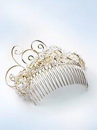 This Hair Jewelry by Swarovski Sorry this is an original image a bit small detail